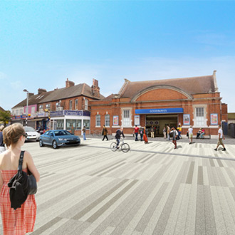 Crossrail plans Goodmayes work